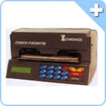 Máquina de Preencher Cheque Chronos multi